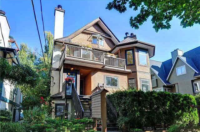 Main Photo: 2429 W 6TH AVENUE in Vancouver: Kitsilano Townhouse for sale (Vancouver West)