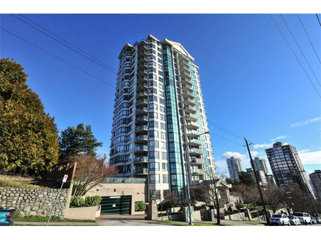 Main Photo: 1106 121 TENTH Street in NEW WESTMINSTER: Uptown NW Condo for sale (New Westminster)  : MLS® # v1100656