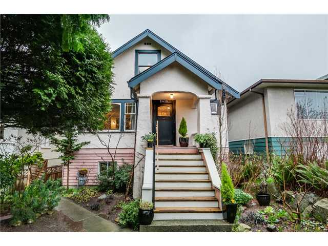 Main Photo: 2419 E. 12th Avenue in Vancouver: Renfrew VE House for sale (Vancouver East)  : MLS®# V1107185