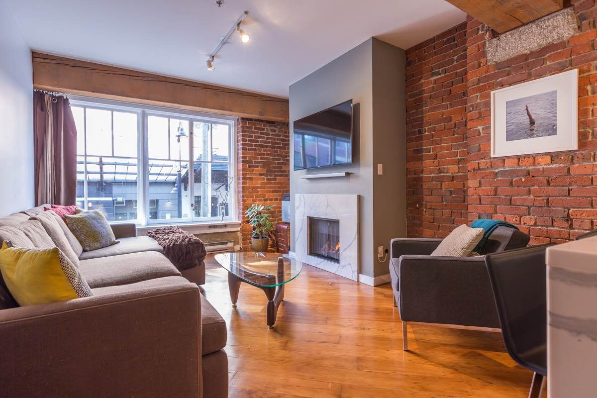 Main Photo: 201 1178 HAMILTON STREET in Vancouver: Yaletown Condo for sale (Vancouver West)  : MLS® # R2038460