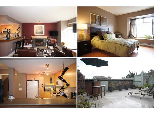 "Main Photo: 43 7428 SOUTHWYNDE Avenue in Burnaby: South Slope Townhouse for sale in ""LEDGESTONE 2"" (Burnaby South)  : MLS® # V938028"