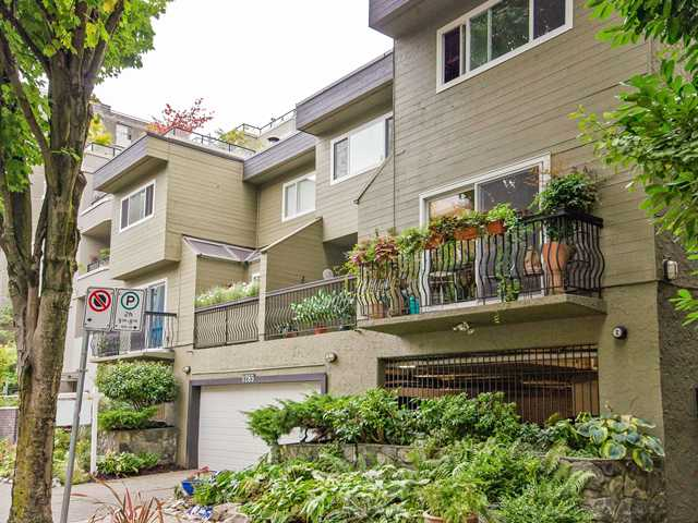 "Main Photo: 1 1285 HARWOOD Street in Vancouver: West End VW Townhouse for sale in ""HARWOOD COURT"" (Vancouver West)  : MLS® # V943710"