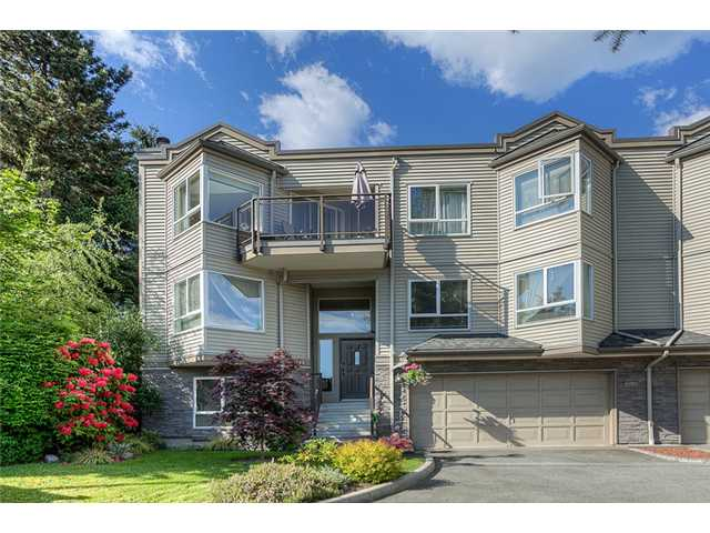 Main Photo: 111 1215 LANSDOWNE Drive in Coquitlam: Upper Eagle Ridge Townhouse for sale : MLS® # V953321