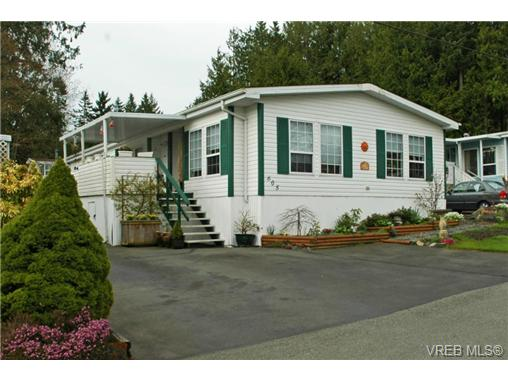 Main Photo: SAANICHTON MOBILE HOME = SAANICHTON REAL ESTATE Sold With Ann Watley! Call (250) 656-0131