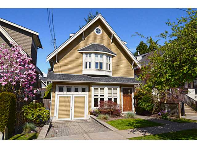 Main Photo: 875 W 24TH AV in Vancouver: Cambie House for sale (Vancouver West)  : MLS® # V1057982