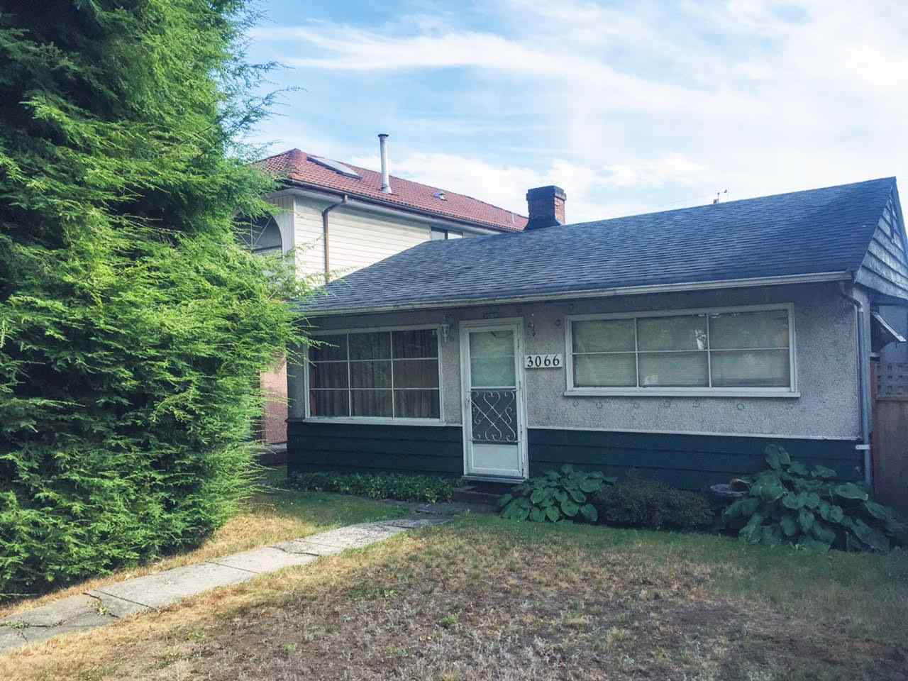 Main Photo: 3066 E 7TH AVENUE in Vancouver: Renfrew VE House for sale (Vancouver East)  : MLS(r) # R2108071
