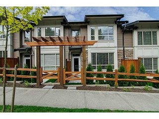 "Main Photo: 10 23986 104TH Avenue in Maple Ridge: Albion Townhouse for sale in ""SPENCER BROOK"" : MLS® # V1006455"