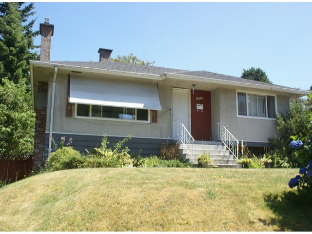 Main Photo: 10860 128TH Street in Surrey: Whalley House for sale (North Surrey)  : MLS® # F1317633