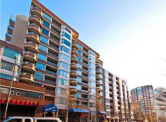 Main Photo: 801 1330 Hornby Street in Vancouver: Downtown VW Condo for sale (Vancouver West)  : MLS®# V999940