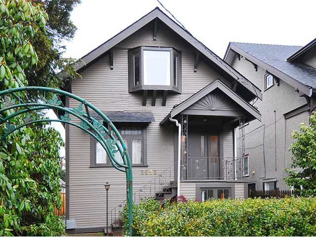 Main Photo: 3533 W 5TH AV in : Kitsilano House for sale : MLS®# V867324