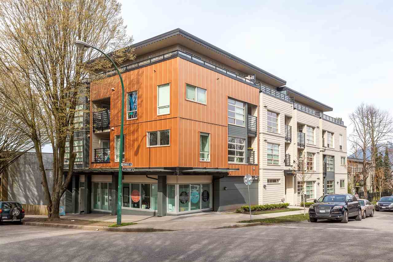 Main Photo: 206 885 SALSBURY DRIVE in Vancouver: Hastings Condo for sale (Vancouver East)  : MLS® # R2047920