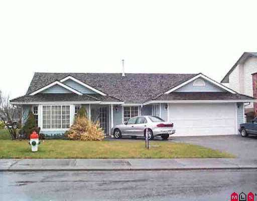 Main Photo: 32871 HIGHLAND AV in Abbotsford: Central Abbotsford House for sale : MLS® # F2600144