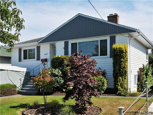 Main Photo: 1447 Stroud Road in VICTORIA: Vi Oaklands Single Family Detached for sale (Victoria)  : MLS(r) # 313346