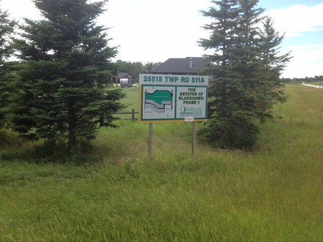 Main Photo: 6 25515 TWP RD 511A: Rural Parkland County Rural Land/Vacant Lot for sale : MLS®# E3344869