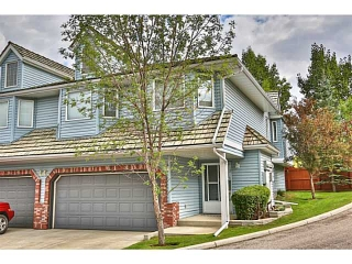 Main Photo: 100 VALLEY RIDGE Heights NW in CALGARY: Valley Ridge Townhouse for sale (Calgary)  : MLS(r) # C3634497