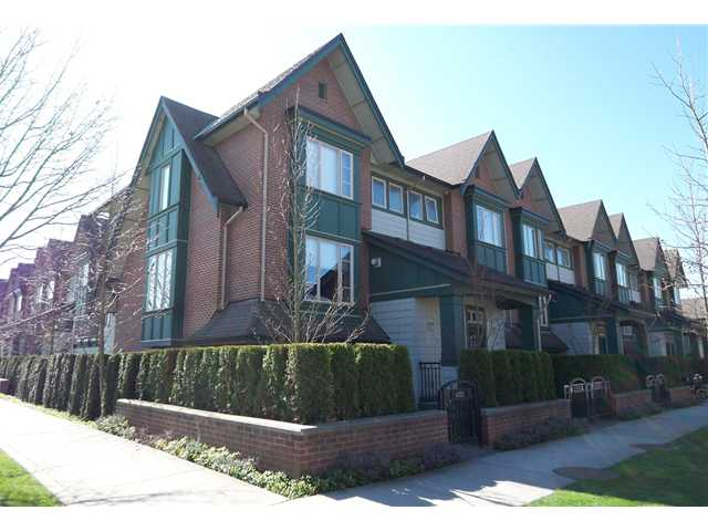 Main Photo: 6202 LOGAN Lane in Vancouver: University VW Townhouse for sale (Vancouver West)  : MLS® # V931495