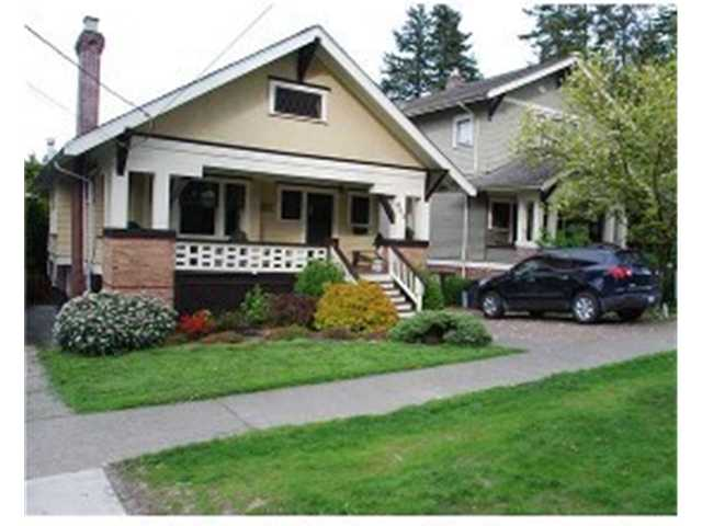 "Main Photo: 603 1ST Street in New Westminster: GlenBrooke North House for sale in ""QUEEN'S PARK"" : MLS® # V949449"