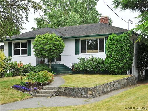 Main Photo: 2041 Allenby Street in VICTORIA: OB Henderson Single Family Detached for sale (Oak Bay)  : MLS® # 313251