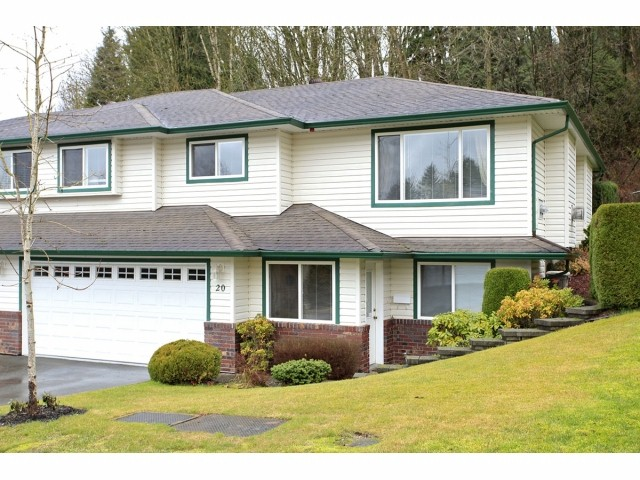 Main Photo: 20 34250 HAZELWOOD Avenue in Abbotsford: Central Abbotsford Townhouse for sale : MLS® # F1228668