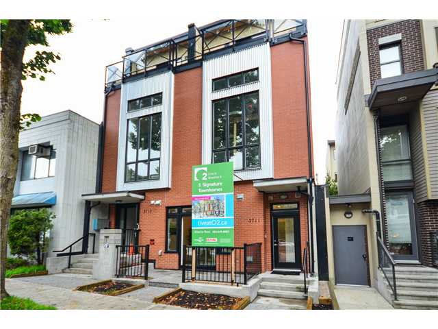 "Main Photo: 3711 COMMERCIAL Street in Vancouver: Victoria VE Townhouse for sale in ""O2"" (Vancouver East)  : MLS(r) # V1025256"