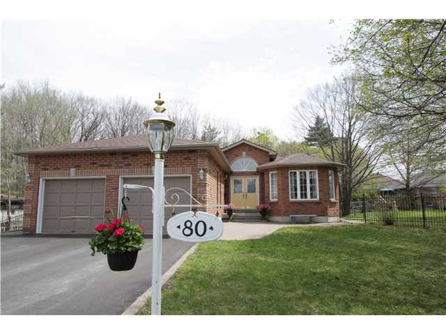 Main Photo: 80 BRENNAN AV in BARRIE: House for sale : MLS® # 1403639