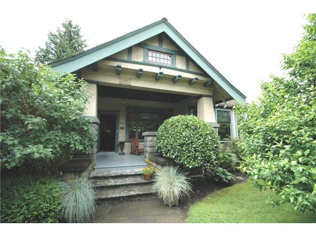 "Main Photo: 340 10TH Street in New Westminster: Uptown NW House for sale in ""BROW OF THE HILL"" : MLS® # V1014995"
