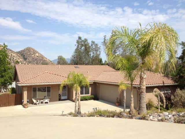 Main Photo: RAMONA House for sale : 3 bedrooms : 16329 Daza Drive