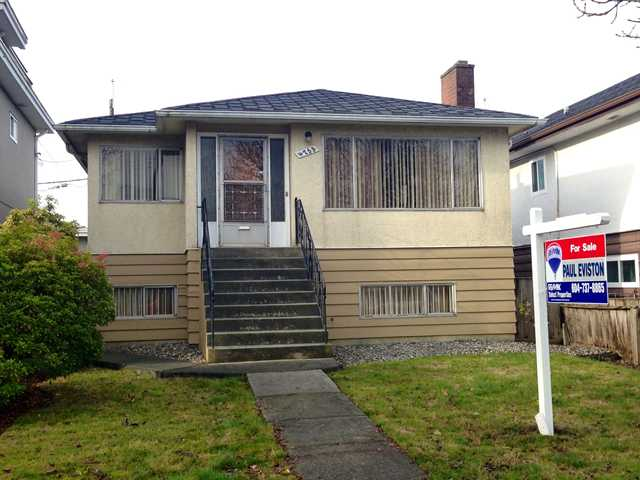 Main Photo: 4753 GLADSTONE Street in Vancouver: Victoria VE House for sale (Vancouver East)  : MLS® # V981545