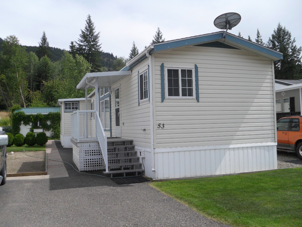 Main Photo: 53 4901 TCH EAST in KAMLOOPS: PRITCHARD Manufactured Home for sale : MLS(r) # 123372