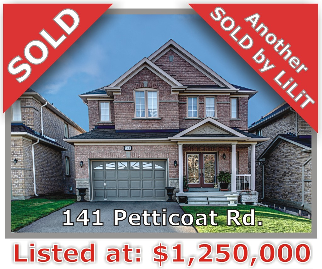 Main Photo: 141 Petticoat Rd in Vaughan: Patterson Freehold for sale