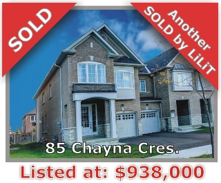 Main Photo: 85 Chayna Crescent in Vaughan: Patterson Freehold for sale