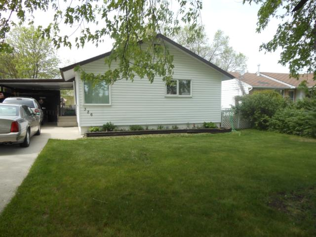 Main Photo: 326 Strathmillan Road in WINNIPEG: St James Residential for sale (West Winnipeg)  : MLS®# 1210268