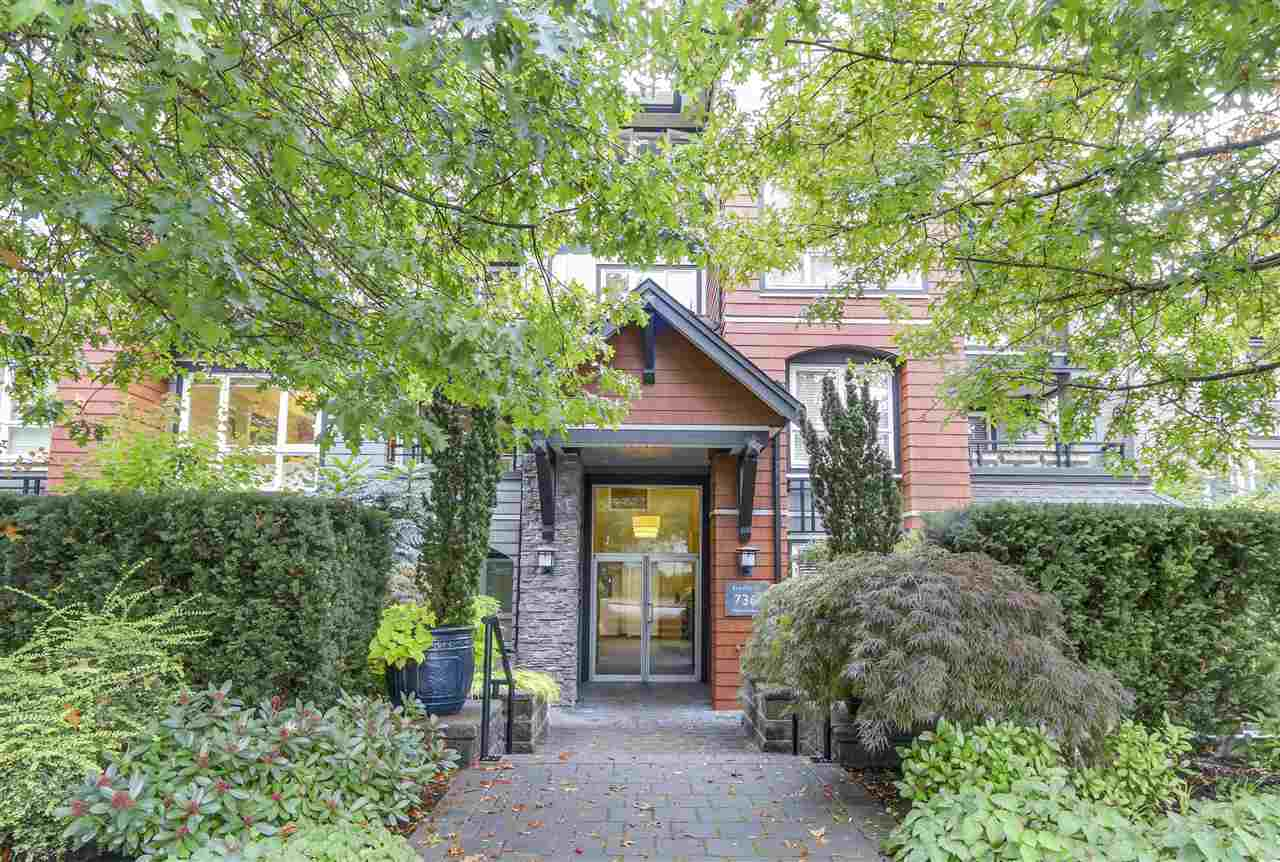Main Photo: 201 736 W 14TH AVENUE in Vancouver: Fairview VW Condo for sale (Vancouver West)  : MLS® # R2110767