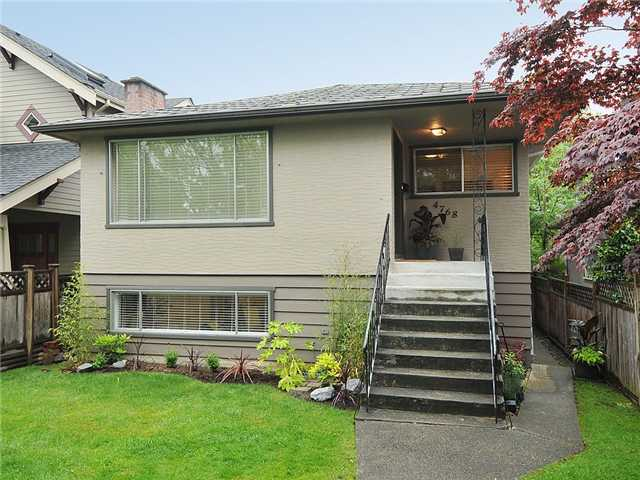 Main Photo: 4768 GLADSTONE Street in Vancouver: Victoria VE House for sale (Vancouver East)  : MLS® # V954145