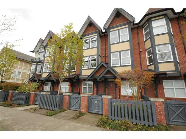 Main Photo: 33 6099 ALDER Street in Richmond: McLennan North Townhouse for sale : MLS® # V971234