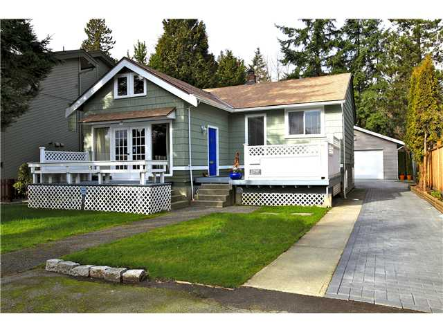 Main Photo: 1290 PLATEAU Drive in North Vancouver: Pemberton Heights House for sale : MLS®# V996468