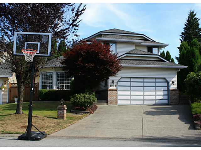 Main Photo: 1935 EUREKA AV in Port Coquitlam: Citadel PQ House for sale : MLS® # V1078539