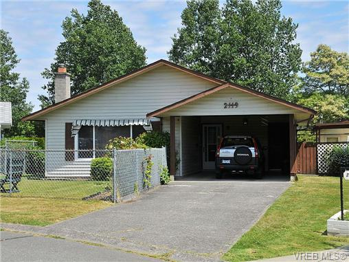Main Photo: 2119 Redwing Place in SIDNEY: Si Sidney South-West Single Family Detached for sale (Sidney)  : MLS® # 325185