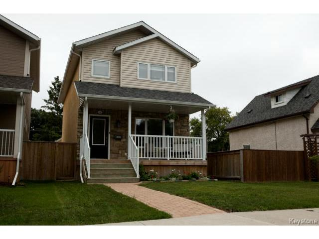 Main Photo: 134 Harrowby Avenue in WINNIPEG: St Vital Residential for sale (South East Winnipeg)  : MLS(r) # 1420908