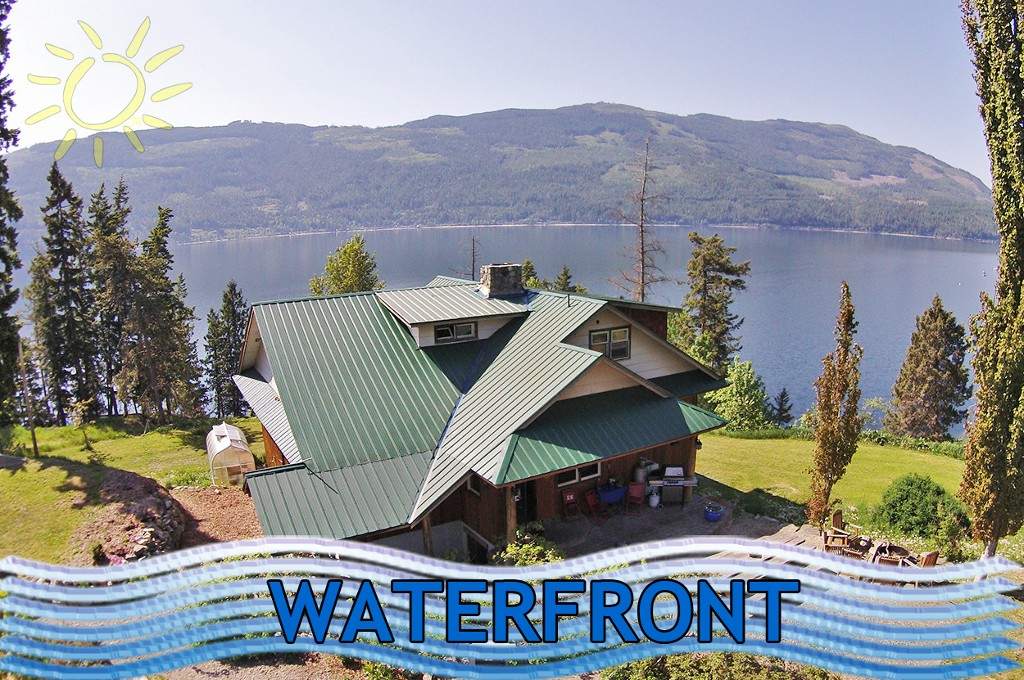6525 Sunnybrae Canoe Point Road - Shuswap Lake Ranch