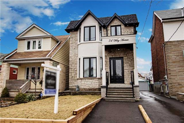 Main Photo: 74 Wiley Ave in Toronto: Danforth Village-East York Freehold for sale (Toronto E03)  : MLS(r) # E3741818