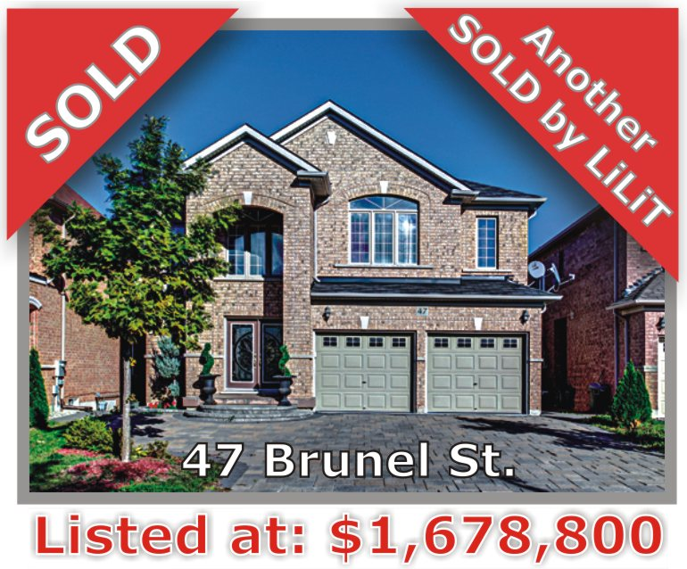 Main Photo: 47 Brunel St in Vaughan: Patterson Freehold for sale