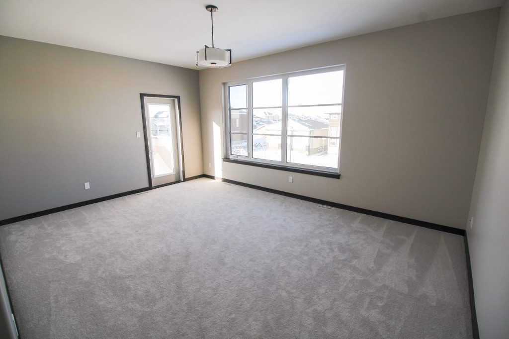 Large master bedroom with personal balcony!