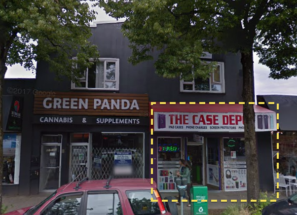 Main Photo: 2855 West Broadway Street in Vancouver: Kitsilano Retail for lease