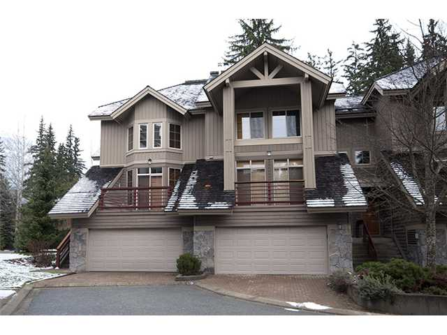 "Main Photo: # 37 8030 N NICKLAUS BV: Whistler Townhouse for sale in ""ENGLEWOOD GREEN"" : MLS® # V977893"