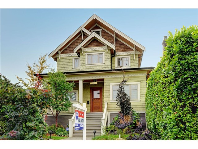 Main Photo: 52 E 21ST Avenue in Vancouver: Main House for sale (Vancouver East)  : MLS®# V1028341