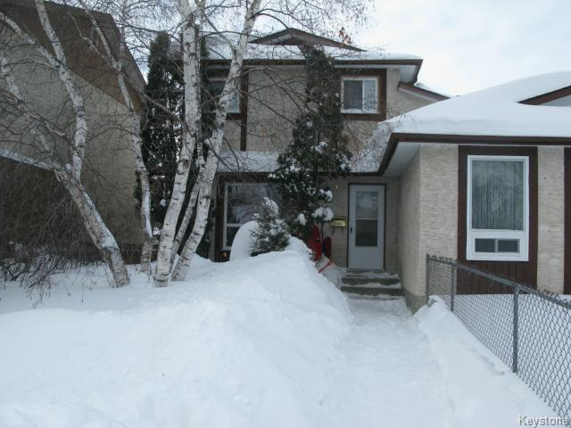 Main Photo: 144 Kairistine Lane in WINNIPEG: Maples / Tyndall Park Single Family Attached for sale (North West Winnipeg)  : MLS®# 1402969