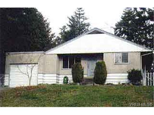 Main Photo: 748 Mann Avenue in VICTORIA: SW Royal Oak Single Family Detached for sale (Saanich West)  : MLS® # 106715