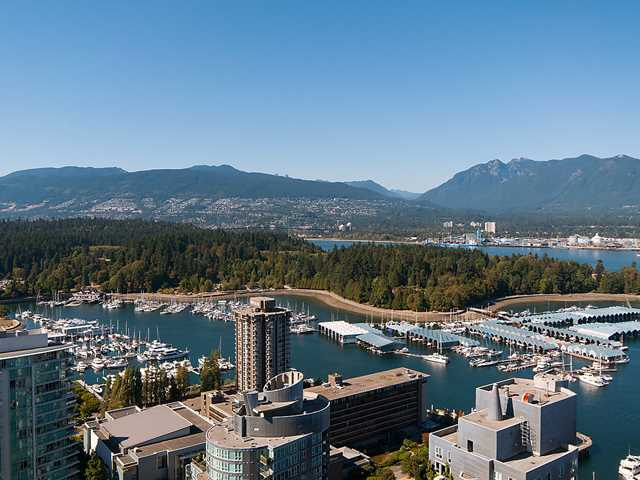 Main Photo: # 3502 1499 W PENDER ST in Vancouver: Coal Harbour Condo for sale (Vancouver West)  : MLS®# V1139919