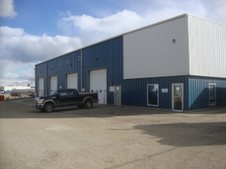 Main Photo: 2 3911 37 Avenue in Whitecourt: Industrial for lease : MLS(r) # 41814